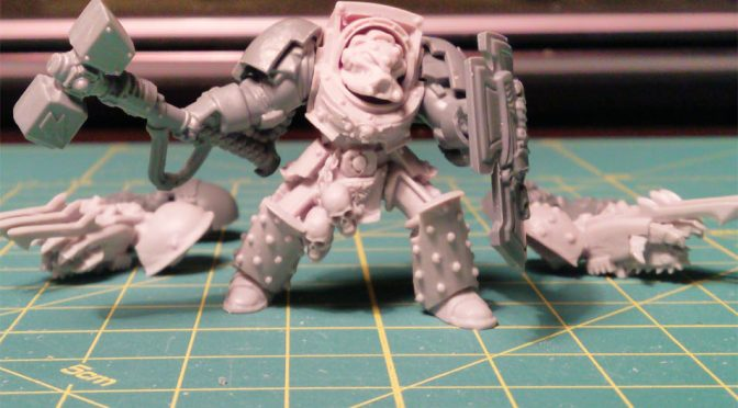 Chapter Master w Terminator Armour