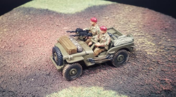 British Airborne Recce Jeep