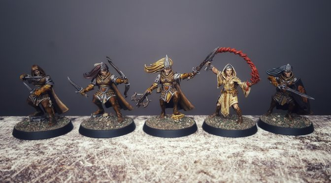Rangers Of The ShadowDeep Warband